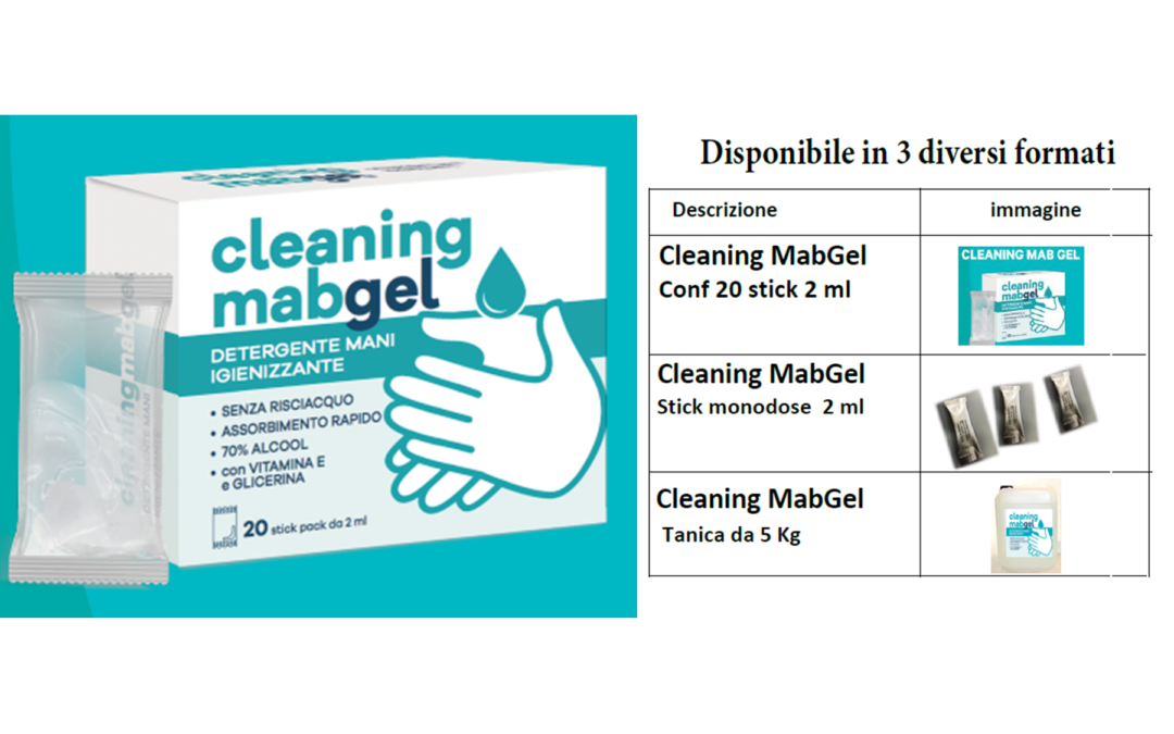 Nuovo CLEANING MAB GEL!